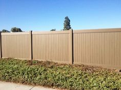 Brown Vinyl Privacy Fence cambridge vinyl privacy fence; for back yard. matches other vinyl