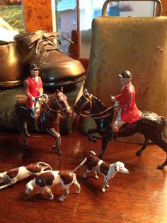 Two riders and horses and three dogs. Equestrian Decor, Equestrian Style, Tally Ho, English Country Style, Fox Hunting, Ralph Lauren Style, Hiking Boots, Style Me, Cottage