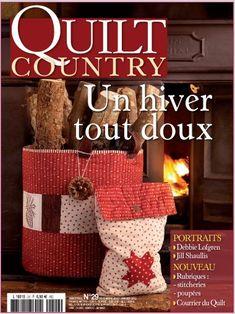 Quilt Country nº 29 : Un hiver tout doux. En www.lacasinaroja.com