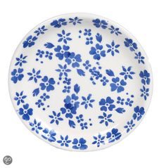 bol.com | Kitchen Trend Products Ditsy Petitfourbordje - Ø 13 cm - Blauw | Koken...