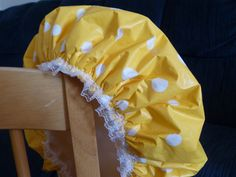 Polka Dots Shower Cap Waterproof Durable Soft by GiftCreation, $15.50