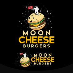 Moon Cheese Burgers | 99designs