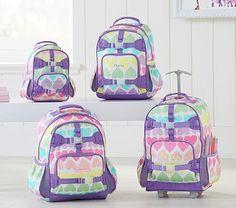 Mackenzie Rainbow Hearts Backpack. Pottery Barn KidsSchool SuppliesSchool  BagsKids Rolling BackpackRollsBackpacksRainbow ... 2e597ec8d3040