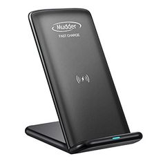 Note 8, S8 Fast Wireless Charger, Mudder 2 Coils QI Wireless Charging Stand for Samsung Galaxy S8, Note 8, S8 Plus, S7, S7 Edge, S6 Edge Plus, Nexus 7/6/5/4 and Other QI-Enabled Devices