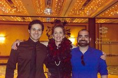 NAWRB CEO Desiree Patno takes a lovely picture with two of her sons. #NAWRB2014
