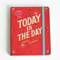 today is the day pocket planner at ShopRuche.com