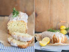 Zitronen-Ingwer-Kuchen mit frischem Rosmarin - von einem Cocktail zu einem Kuchen inspiriert