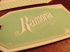 Ramona hang tags