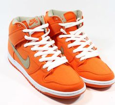 Nike Dunk SB High Pro Urban Orange/ Bamboo White