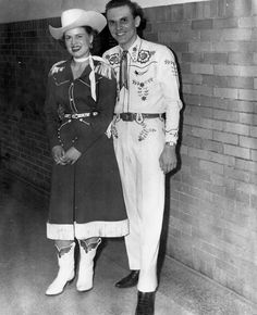 Patsy and Bill Peer in the 1950's. [Snagged from the Internet]
