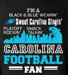 This girl loves her Panthers! Crazy for the Carolina Panthers! Keep pounding! Sweet Caroline Other Panthers Football Team, Football Fans, Football Season, Watch Football, Carolina Panthers Wallpaper, Panther Country, Nfl Highlights, Carolina Panthers Football, Panther Nation