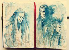 Elrond by Kinko-White.deviantart.com on @deviantART