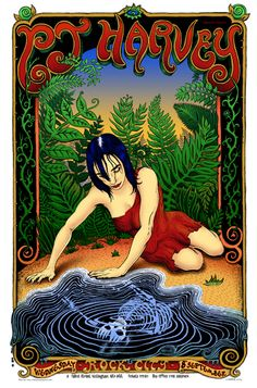 PJ Harvey 08/09/04 - Music Posters - Emek - Richard Goodall Gallery ...