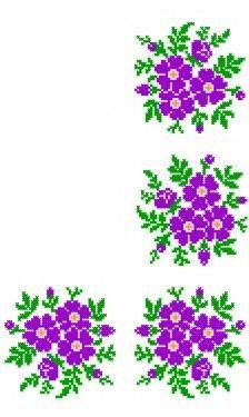 Poze FL193 Cross Stitch Heart, Cross Stitch Borders, Cross Stitch Flowers, Cross Stitch Designs, Cross Stitching, Cross Stitch Embroidery, Embroidery Patterns, Cross Stitch Patterns, Christmas Cross