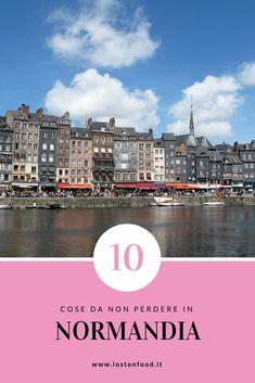 Dieci cose assolutamente da non perdere in Normandia #francia #travel #normandia Travelling, Camper, Around The Worlds, Weather, Spaces, Movie Posters, Decor, France Travel, Display