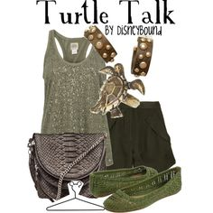 Turtle Talk Outfit<3