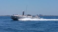 Navy Contract for 2 CUSVs for Minehunting Tests Should Create Hot Production Line Ahead of LRIP in 2018 - Common Unmanned Surface Vehicle testing. Textron Systems photo. Changes in the Navy's unmanned mine hunting plans may help Textron Systems maintain a hot production line for its Common Unmanned Surface Vehicle (CUSV) ahead of next year's expected move into low-rate initial production for the unmanned craft in its original mine sweeping role.