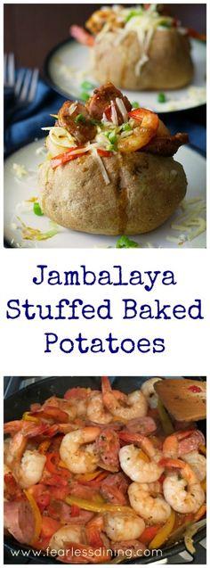 Jambalaya Stuffed Ba
