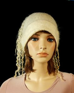 Felted Cap. Hat. CAP 1 by InnaGanke on Etsy