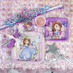 #Princess Sofia Party Supplies from Shindigz