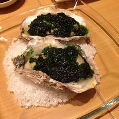 牡蠣青海苔