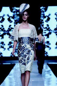 38 Trendy Ideas For Dress Brokat Modern Indonesia Trendy Dresses, Elegant Dresses, Nice Dresses, Casual Dresses, Fashion Dresses, Casual Attire, Dress Brokat Modern, Jakarta Fashion Week, Black Dress Outfits