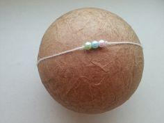 #55 of 100 - newborn pearl tieback