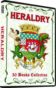HERALDRY - Vintage Literature, 30 Books on DVD, Armory, symbolism, seals, Badges