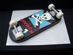 Skateboard Cake — Children's Birthday