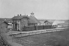 Elevrum station at Hamar-Grundset Railway, Norway
