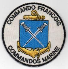 Insigne tissus Commando François en TBE