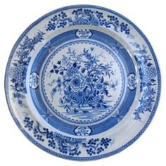 English  Transferware  Plate, C. 1820