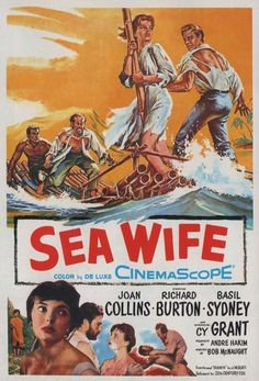 Sea Wife (1957) - Richard Burton DVD