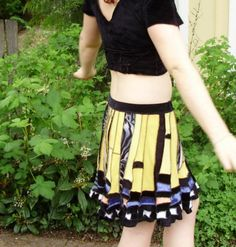 tiger swallowtail SKIRT from trnka on etsy