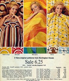 Loud & proud! Retro sheets and towels with major flower power (1970) - Click Americana