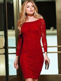 Open-back Lace Dress #VictoriasSecret http://www.victoriassecret.com/clothing/clear-ance/open-back-lace-dress?ProductID=83885=OLS=true?cm_mmc=pinterest-_-product-_-x-_-x
