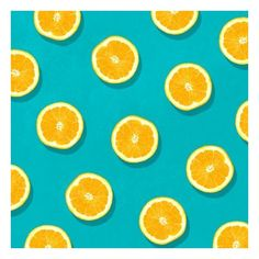 Oranges Fruit Pattern Art Print ❤ liked on Polyvore featuring home, home decor, wall art, backgrounds, orange home accessories, orange wall art and orange home decor