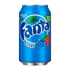 Купить Fanta Berry малина и голубика банка 355 мл — цена доставка магазин Сладкая страсть Москва