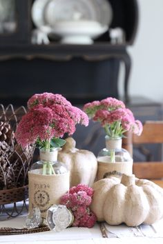Neutral Fall Display by Finding Homes Farms