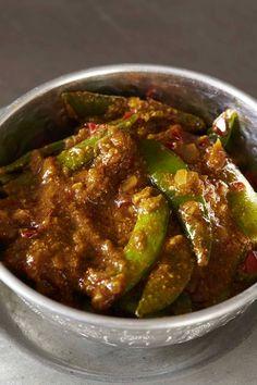 Sugar snap curry