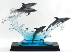 Dolphins Suanti Galleries Figurine Collectible   eBay