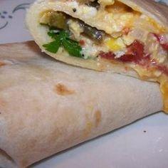 Nopalitos Con Huevos Breakfast Tacos