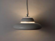 'Fior di Loto' Suspension Lamp | Afra & Tobia Scarpa | Flos | Enameled Aluminum, Chromed Brass | 1962 |