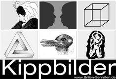 Kippbilder - optische Doppeldeutigkeiten