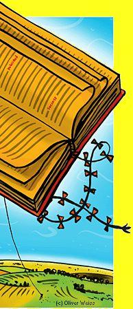 visual homage to books