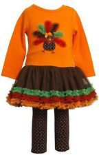 I'm a sucker for Thanksgiving and Halloween kid clothes!