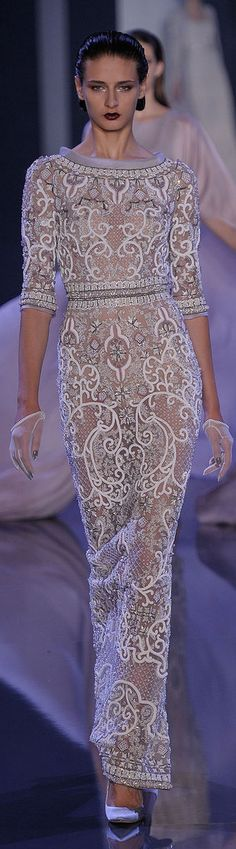 Fashion Dresses | Rosamaria G Frangini | Ralph & Russo Fall 2014-2015 Couture Collection