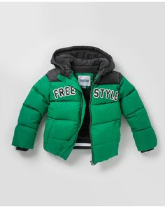 Parka de niño Freestyle Teen Fashion Outfits, Baby Boy Outfits, Boy Fashion, Kids Outfits, Baby Girl Born, Boys Winter Coats, Kids Pants, Cool Kids, Winter Outfits