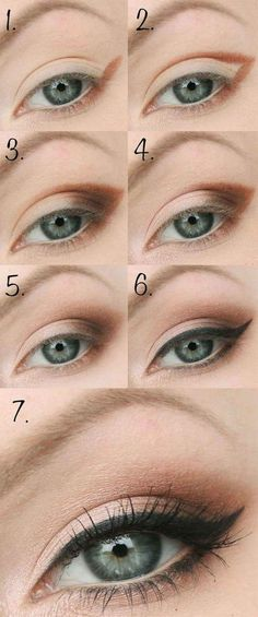 maquillaje natural paso a paso ojos