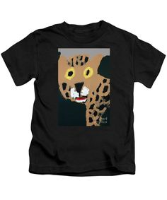 Purchase a Patrick Francis Designer juvenile Black t-shirt featuring the image of Jaguar by Patrick Francis.  Available in sizes 2T - 4T.  Each juvenile t-shirt is printed on-demand, ships within 1 - 2 business days, and comes with a 30-day money-back guarantee.